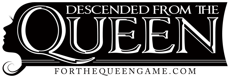 Descended From The Queen Logo